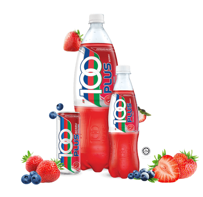 100plus berry flavor